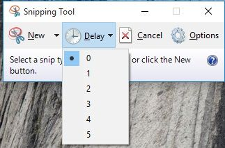 Snipping Tool Delay