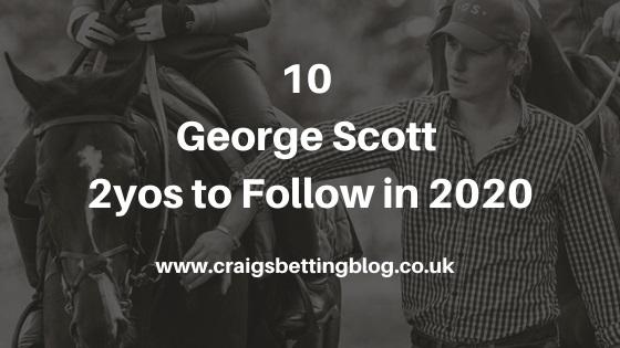 George Scott's 2yos to Follow in 2020