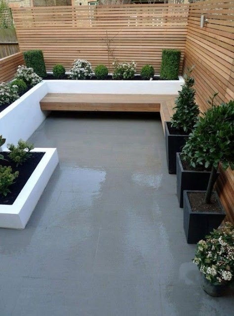 Desain Terbaru Taman Rumah Minimalis Dilahan Yang Sempit Dengan Bentuk Yang Inovatif 2