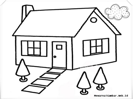 Gambar Rumah Adat Hitam Putih Untuk Diwarnai Rumah Adat Indonesia