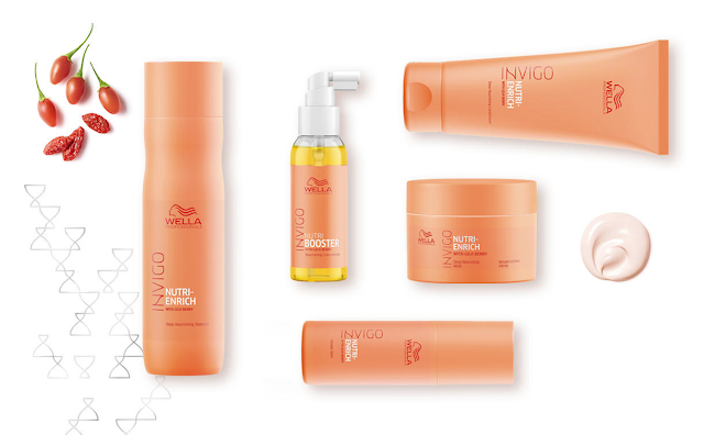 Instant hair nourishment from Wella Invigo Nutri-Enrich!