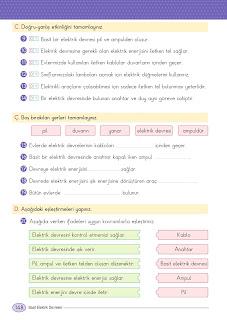 4. Sınıf Fen Bilimleri Ders Kitabı Cevapları Ata Yayınları Sayfa 148