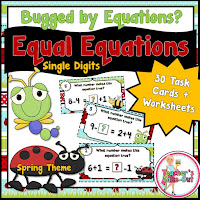 30  Equal Equation Task Cards