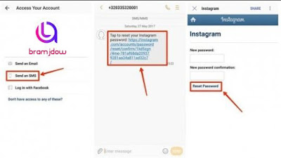 Recover your Instagram account in case you forgot the password