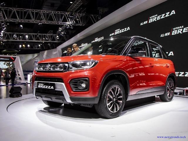The 2020 Maruti Vitara Brezza facelift is a petrol-SUV