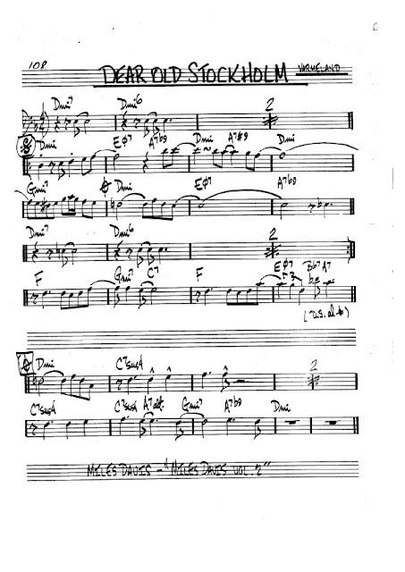 Partitura Trombón Varmeland