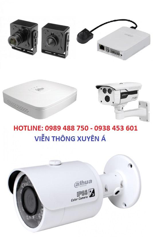 Viễn Thông Xuyên Á nhập khẩu và phân phối Camera chính hãng