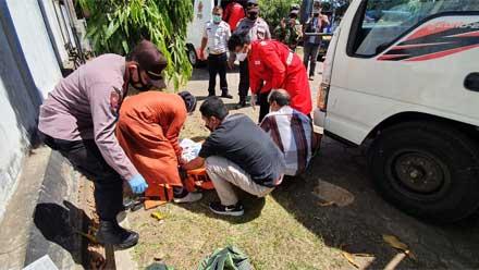Pria Paruh Baya Ditemukan Meninggal di Parkiran Dishub Purworejo