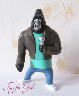 Игрушки Happy Meal мультик Зверопой герой горилла танцор Джонни