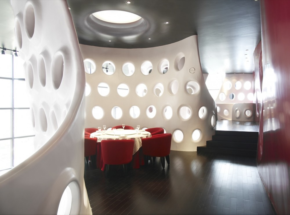 Best Restaurant Interior Design Ideas: Honeycomb ...