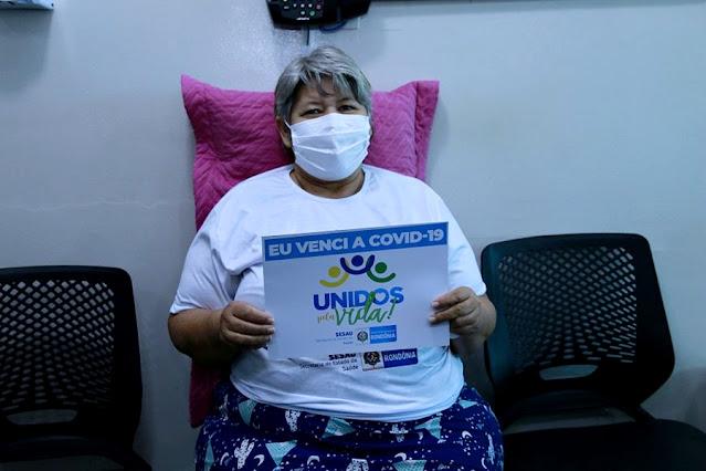 Terceiro paciente do Mato Grosso do Sul em tratamento da covid-19 em RO recebe alta hospitalar