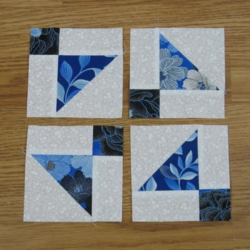 Shoofly Quilt Block and a Variation - Free Pattern