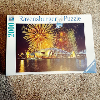 Ravensburger Fireworks Over Sydney 2000 Piece Puzzle #Review