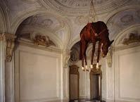 cavallo torturato museo Castello di Rivoli
