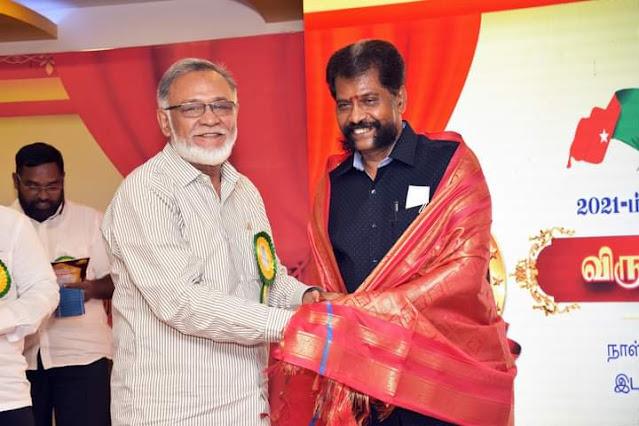 எஸ்.டி.பி.ஐ. கட்சியின் 2021 ஆம் ஆண்டின் விருதுகள் வழங்கும் விழா - சிறந்த ஆளுமைகளுக்கு விருதுகள் வழங்கி கவுரவிப்பு