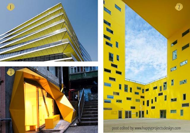 arquitectura en amarillo: Edificio de oficinas, Konzepp store, Cité des affaires