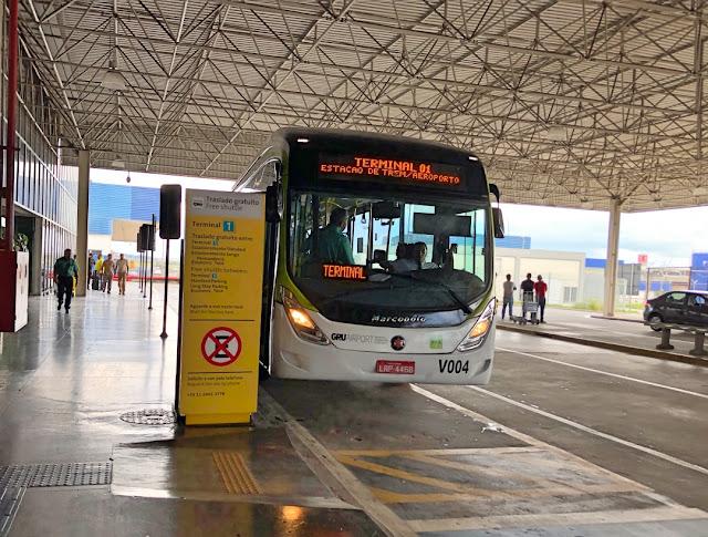 Blog Apaixonados por Viagens - São Paulo - Trem - Aeroporto Guarulhos