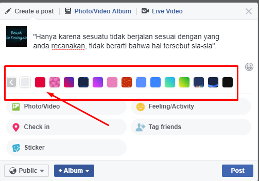 Cara Membuat Background Di Facebook