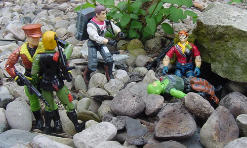 Tiger Force Tunnel Rat, European Exclusive, Funskool General Flagg, Quarrel, Z Force, Palitoy, Action Force, Beach Head, 2002 Sideswipe