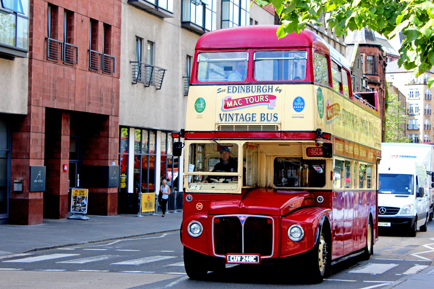 Bonnie Scotland  –  EDINBURGH   part I