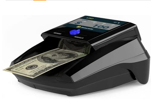 Detectalia USD and EUR Automatic Counterfeit Bill Detection