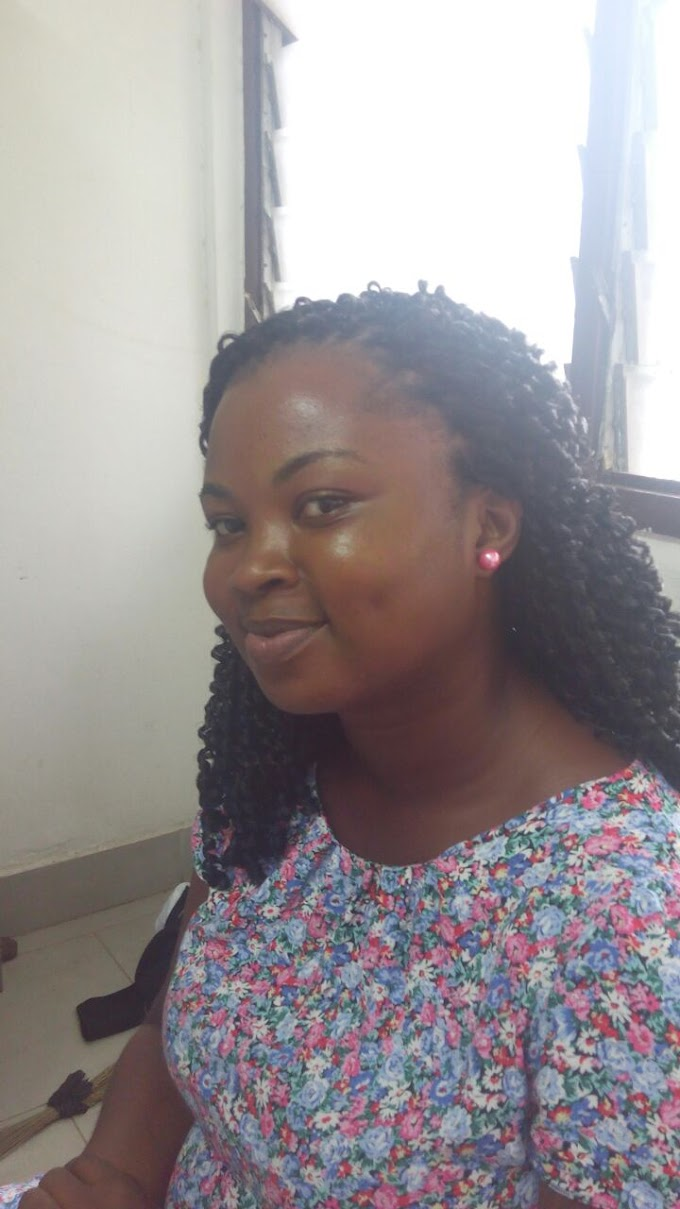 Photos:Legon student jumps to her death