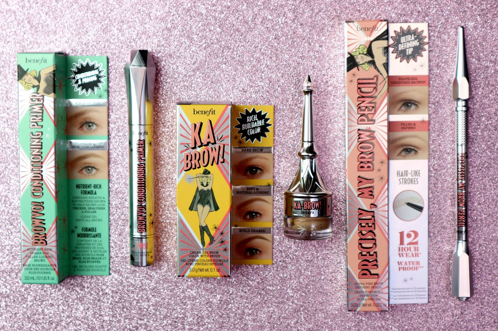 The Benefit New Brow Collection