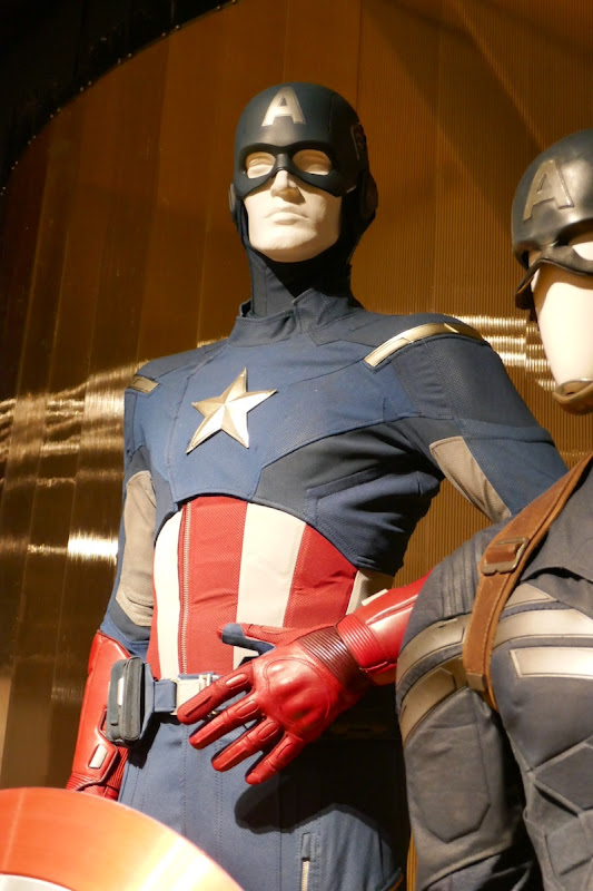Chris Evans Captain America film costume Avengers