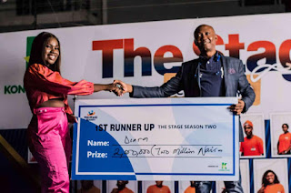 The Stage Nigeria : Meet The Winner Of The Stage Season Two