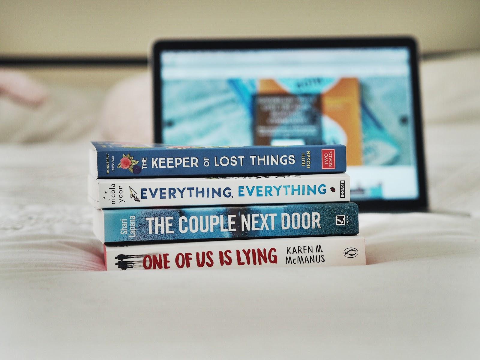 Goodreads: October/November Reading List | Hollie in Wanderlust | Book Haul | BookBlogger