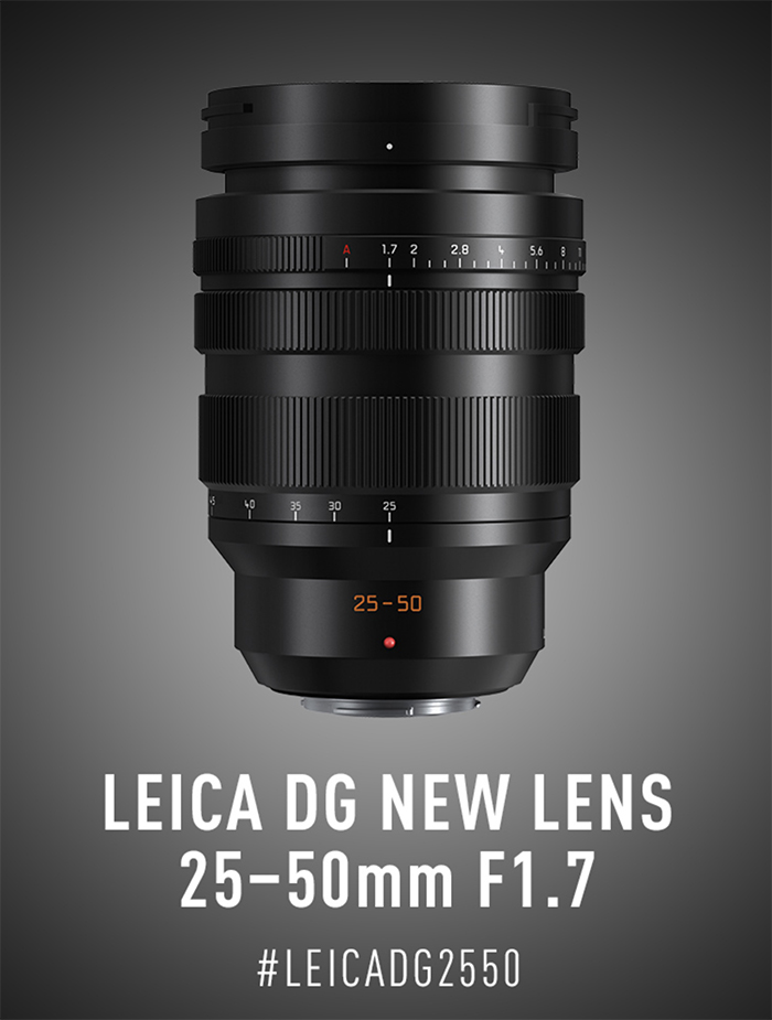 Panasonic Leica DG 25-50mm f/1.7