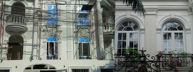 Hình ảnh công trình sử dụng cửa nhựa lõi thép Eurowindow