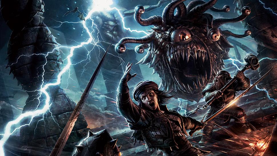 Reseña D&D - Volo's Guide to Monsters - Contemplador