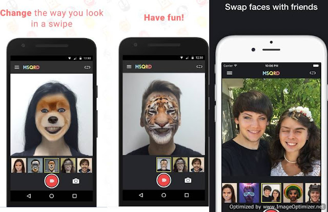 MSQRD- One of the Best Face Swap Free Android App