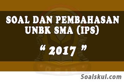 Download Soal dan Pembahasan UNBK SMA 2017 (IPS)