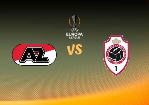 AZ Alkmaar vs Antwerp  Resumen