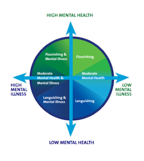 Source: Keyes, C. (2014). Mental health as a complete state: How the solutogenic perspectives completes the picture. In G.F. Bauer & O. Hammig (Eds.), Bridging occupational, organizational and public health: A transdisciplinary approach. New York: Springer Publishing.