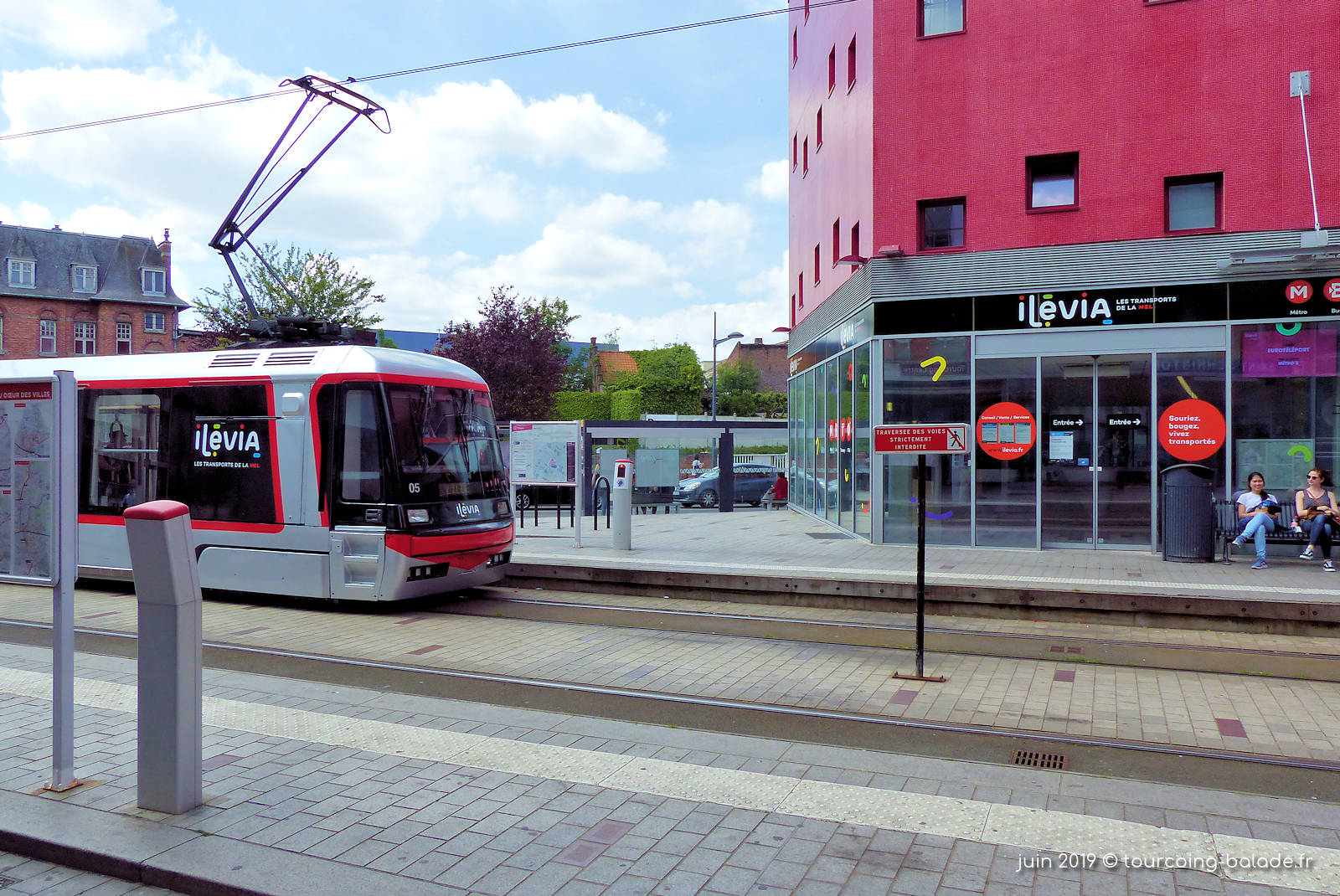 Ilévia Tourcoing - Agence et Tramway