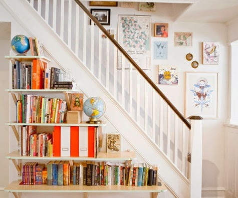 50 Creative Staircase Wall decorating ideas, art frames ... on Creative Staircase Wall Decorating Ideas  id=89175