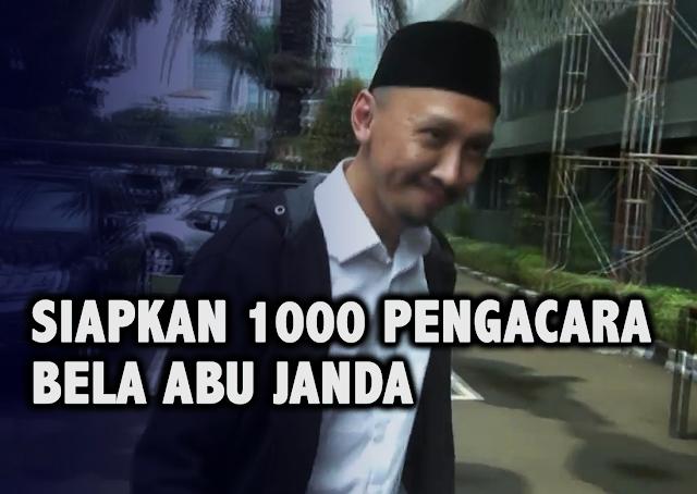 1000 Pengacara Disiapkan Demi Bela Abu Janda