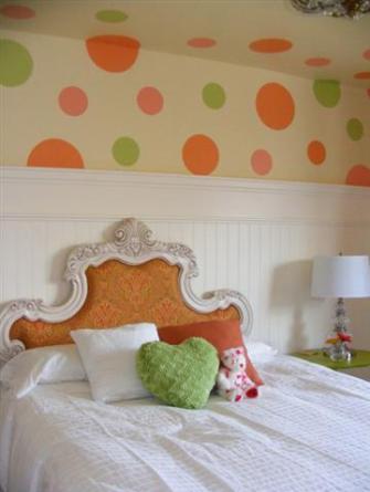 Polka Dots In Kids Rooms Design Dazzle