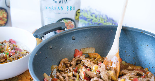 Take A Passage to Asia With this Quick & Easy Korean BBQ Pepper Beef Stir-Fry Dinner ~ #ExplorePassage