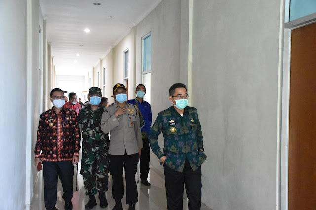GOR dan Gedung Islamic Center Lamtim Akan Dipakai untuk Ruang Isolasi Covid-19