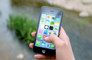 gambar ponsel iphone