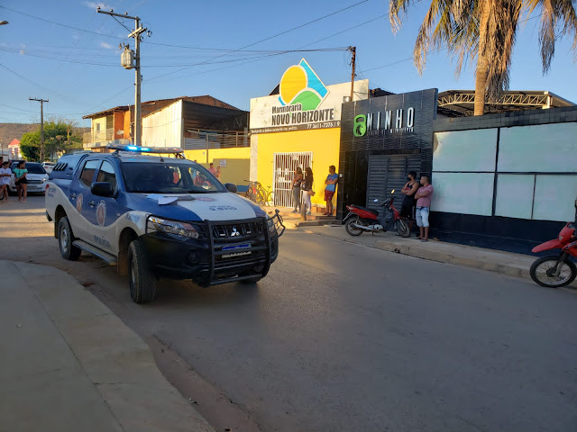 Dono de Academia é morto com vários tiros no bairro Santa Luzia em Barreiras na manhã desta segunda-feira