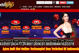 Agen Judi Slot Online Terkomplet Dan Terhebat Di Indonesia