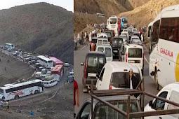 """مسافرون عالقون بممر تيزي نتيشكا يخرجون للاحتجاج """" فيديو """""""