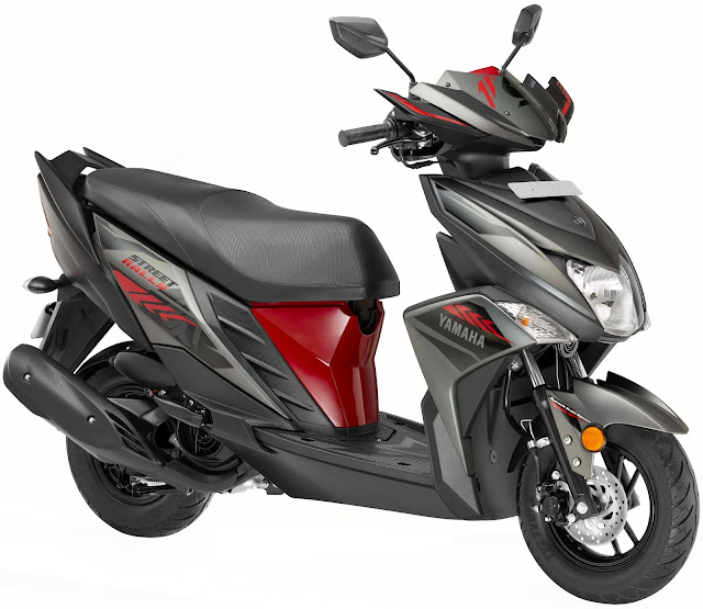 Yamaha launched 'Street Rally' for sporty scooter buyers