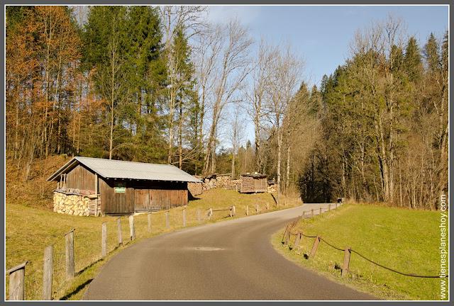 Camino Partnachklamm Baviera (Alemania)