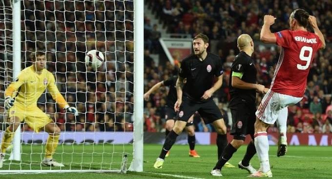 Europa Update: Zlatan Lifts United, Inter Fall Again
